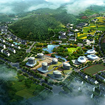 浙江省金华市浦江县前吴小镇和翠湖小镇控制性详细规划及城市设计