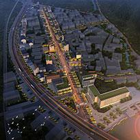 浙江省金华市永康G330国道两侧城市设计