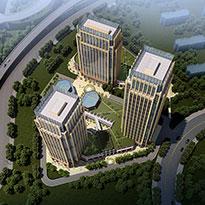 福建省泉州全球采购中心建筑设计