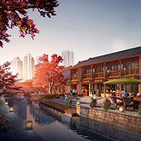 云南省昆明市宜良县水系景观规划