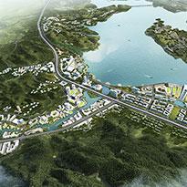 """浙江省杭州市临安区""""滨湖新城""""城市设计及控制性详细规划"""