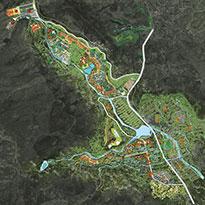 山东省泰安市绿地漫谷小镇概念性规划