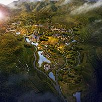 施甸县摆榔金布朗风情小镇发展总体规划